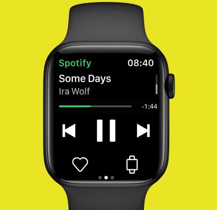 Spotify offline na Apple Watch i Wear OS