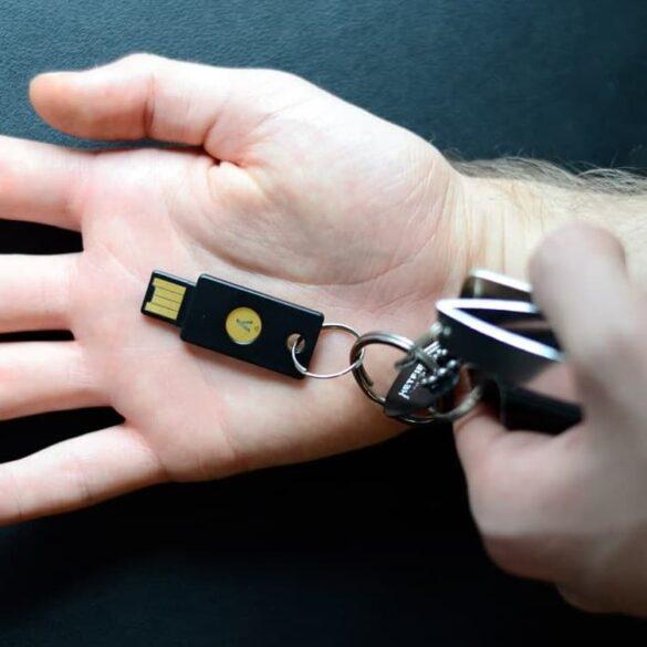 U2F test klucza