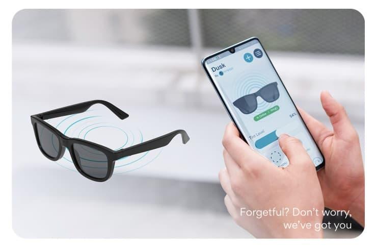 Ampere Dusk Indiegogo okulary