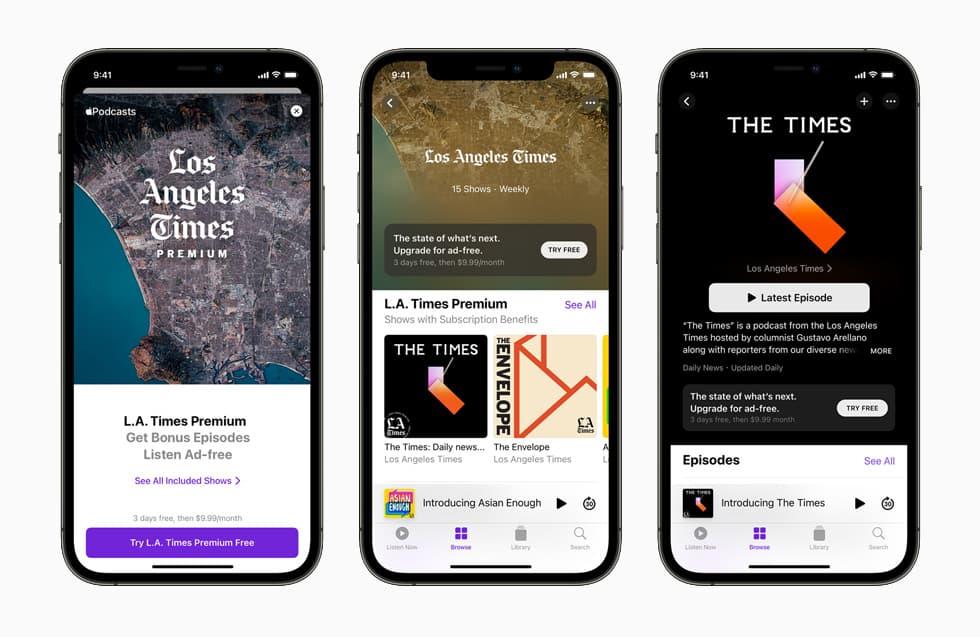 Apple Podcast subskrypcje