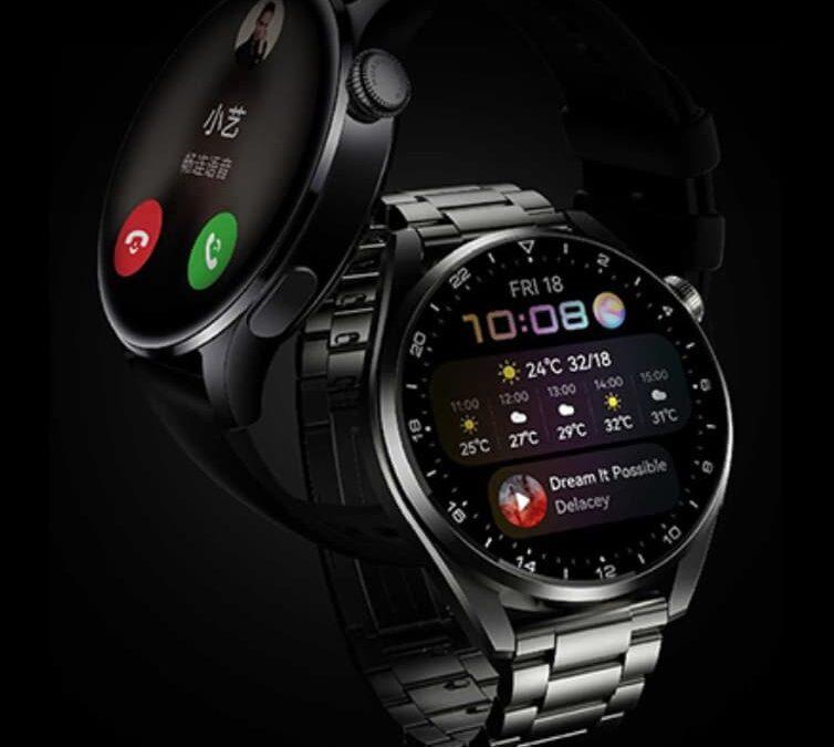 Huawei Watch 3 – smartwatch z Harmony OS 2.0