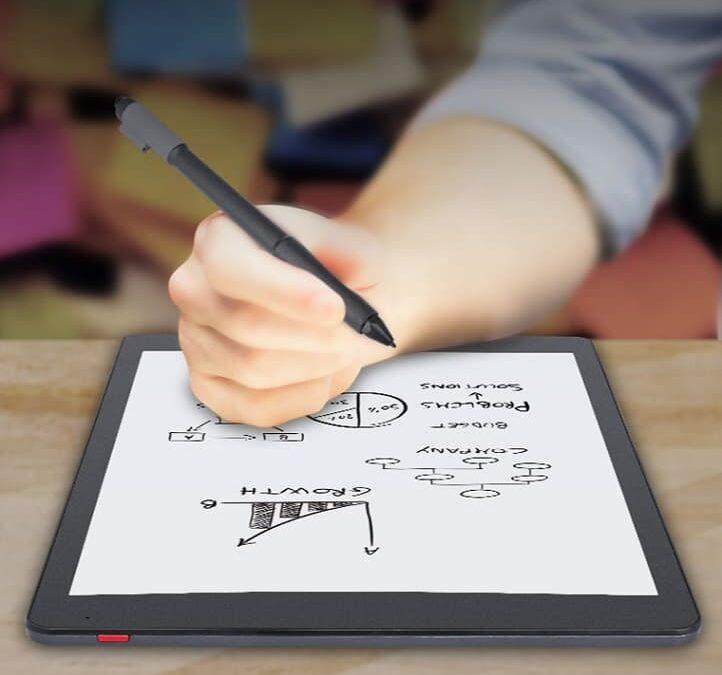 KloudNote – e-tuszowy notatnik 10.3 cala z rysikiem