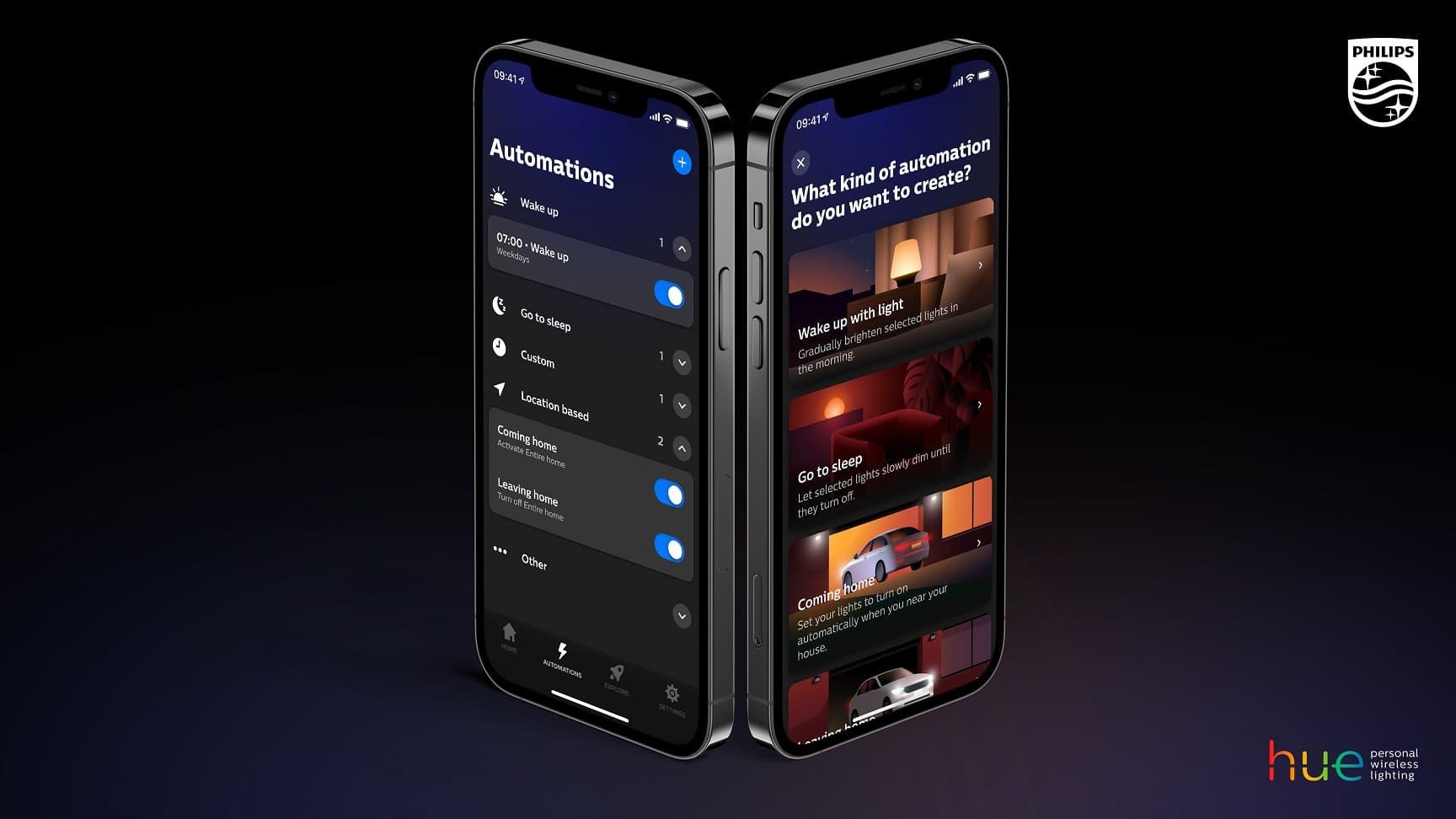 aplikacja Philips Hue 4.0