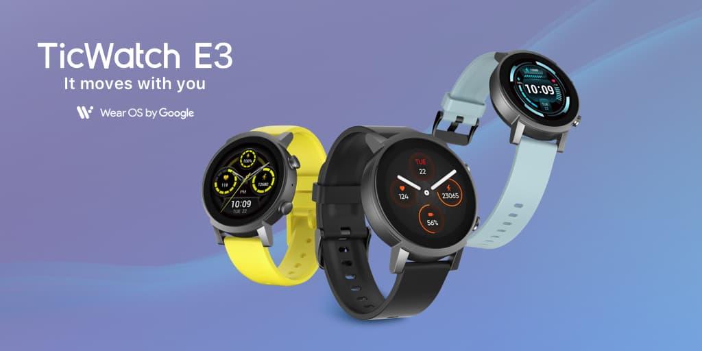 Mobvoi TicWatch E3 Snapdragon Wear 4100
