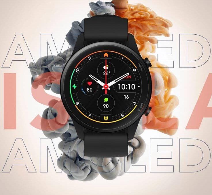 Bardziej sportowy Xiaomi Mi Watch Revolve Active z SpO2
