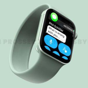 apple watch 7 koncept