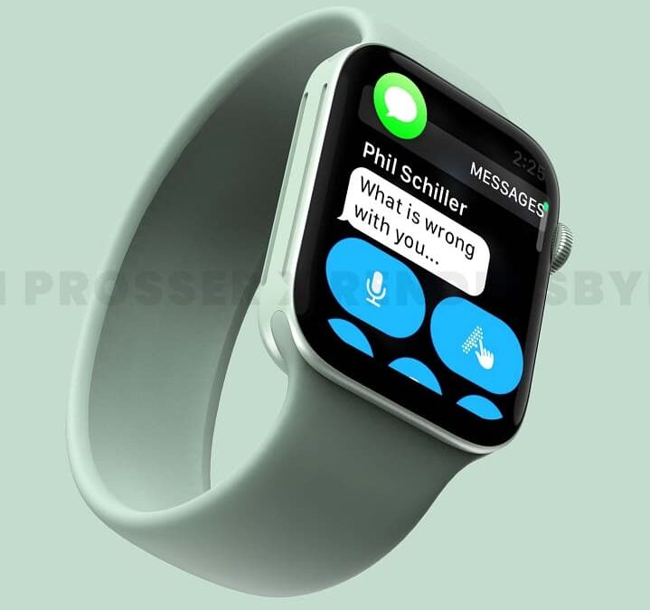 Nachodzi Apple Watch Series 7