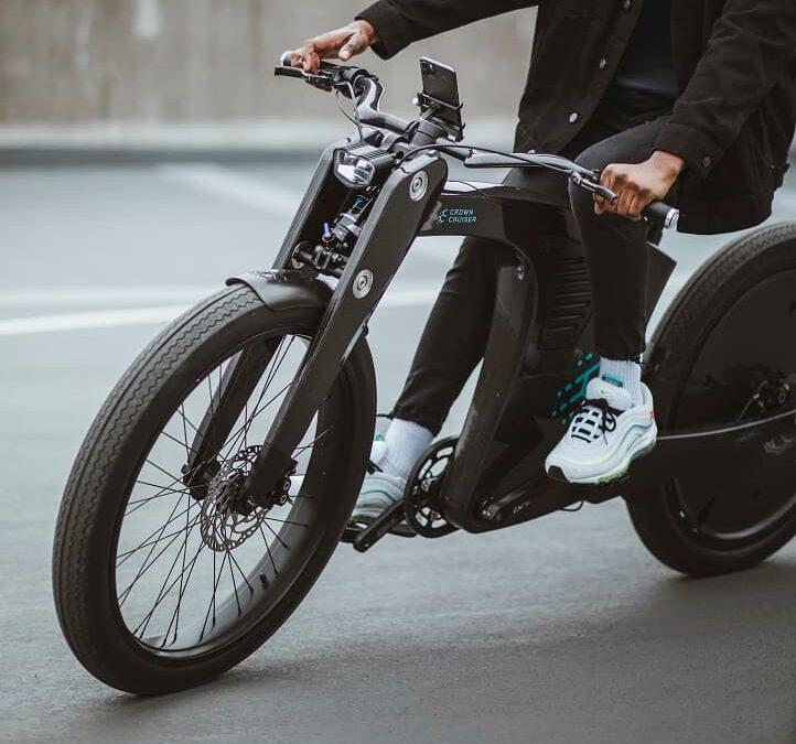 CrownCruiser – elektryczny retro smart rower