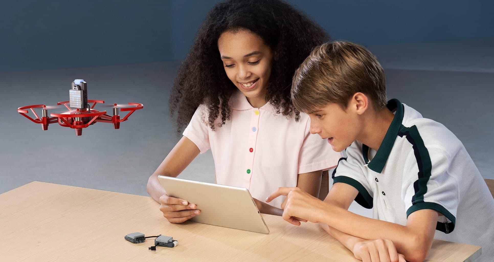 dron DJI RoboMaster TT do nauki programowania i robotyki