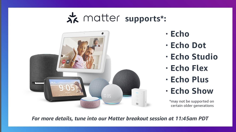 Amazon Echo Matter