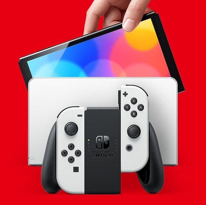 7-calowy Nintendo Switch z ekranem OLED