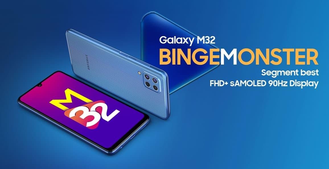 Samsung Galaxy M32 6000 mAh
