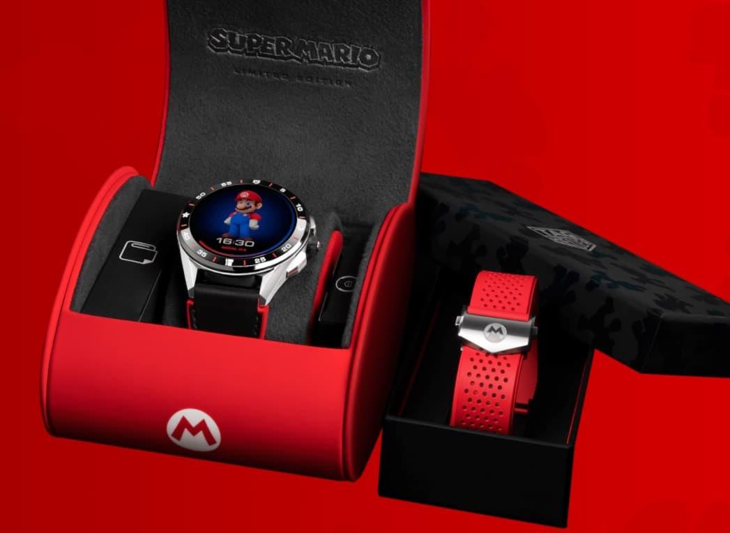Tag Heuer Connected Super Mario edition zegarek Wear OS
