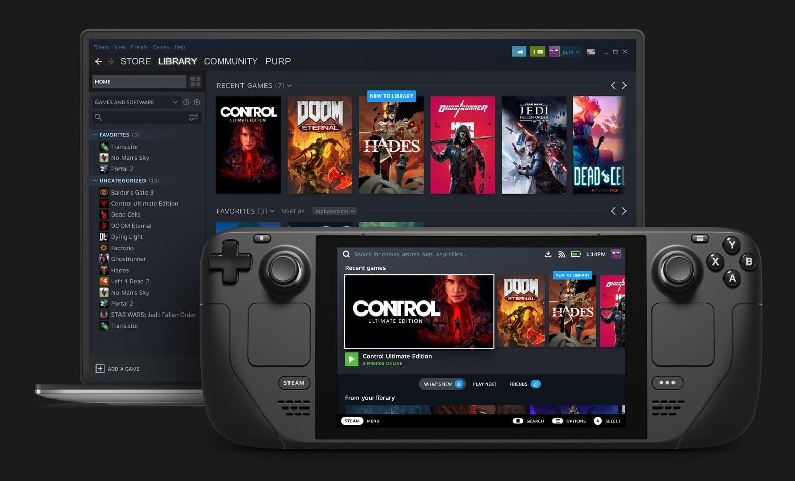 Valve Steam Deck przenośna konsola