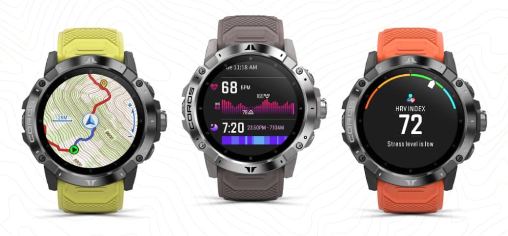 sportowy zegarek GPS Coros Vertix 2