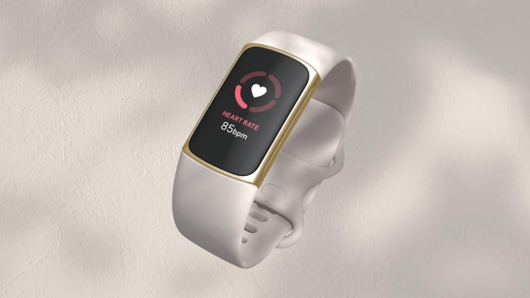 Fitbit Charge 5 z EKG i EDA