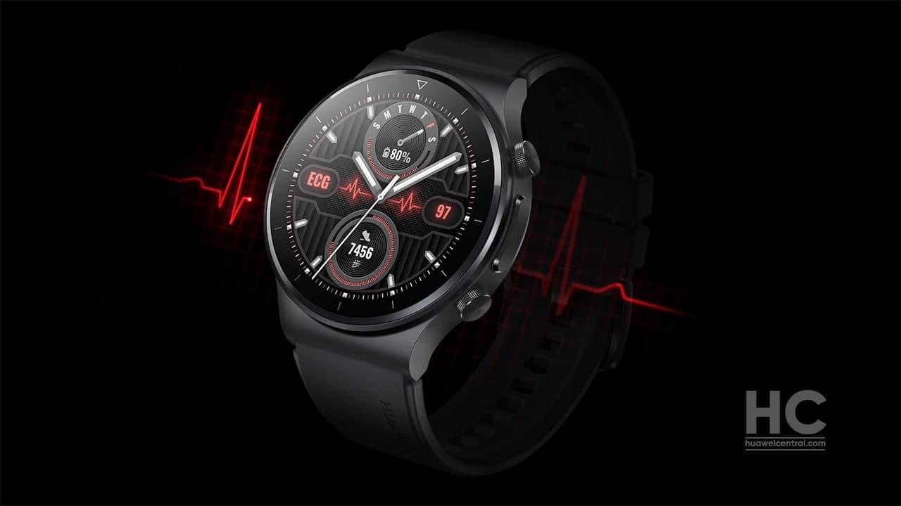 Huawei Watch GT 2 Pro z EKG