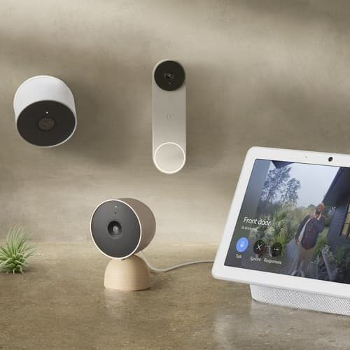 monitoring Nest Cam 2021