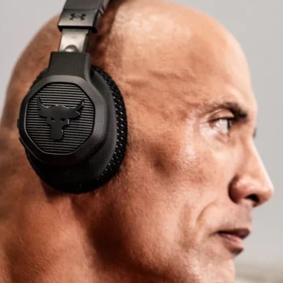 słuchawki fitness UA Project Rock Over-Ear