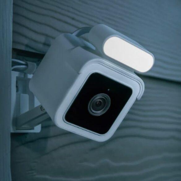 budżetowa kamerka Wyze Cam Spotlight z lampą LED