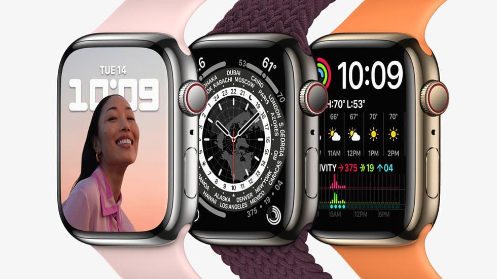zegarek Apple Watch Series 7