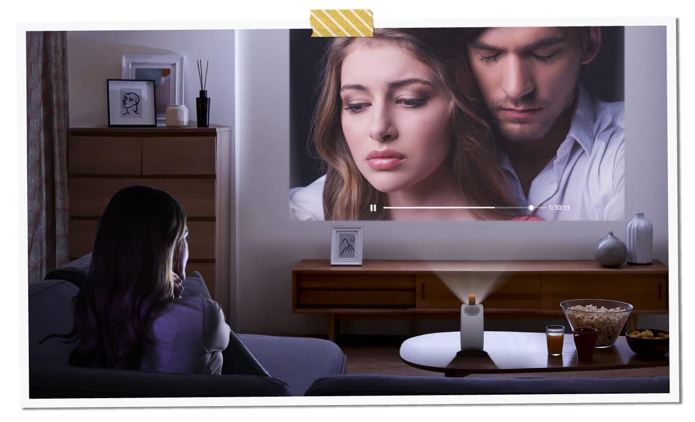 BenQ GV30 projektor i głośnik Bluetooth