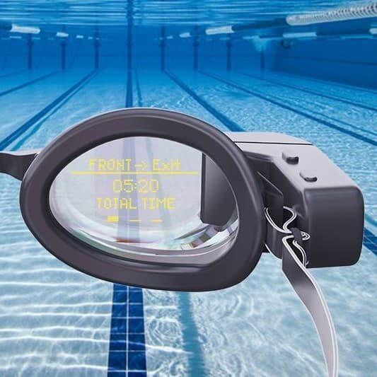 Holoswim smart okularki do pływania