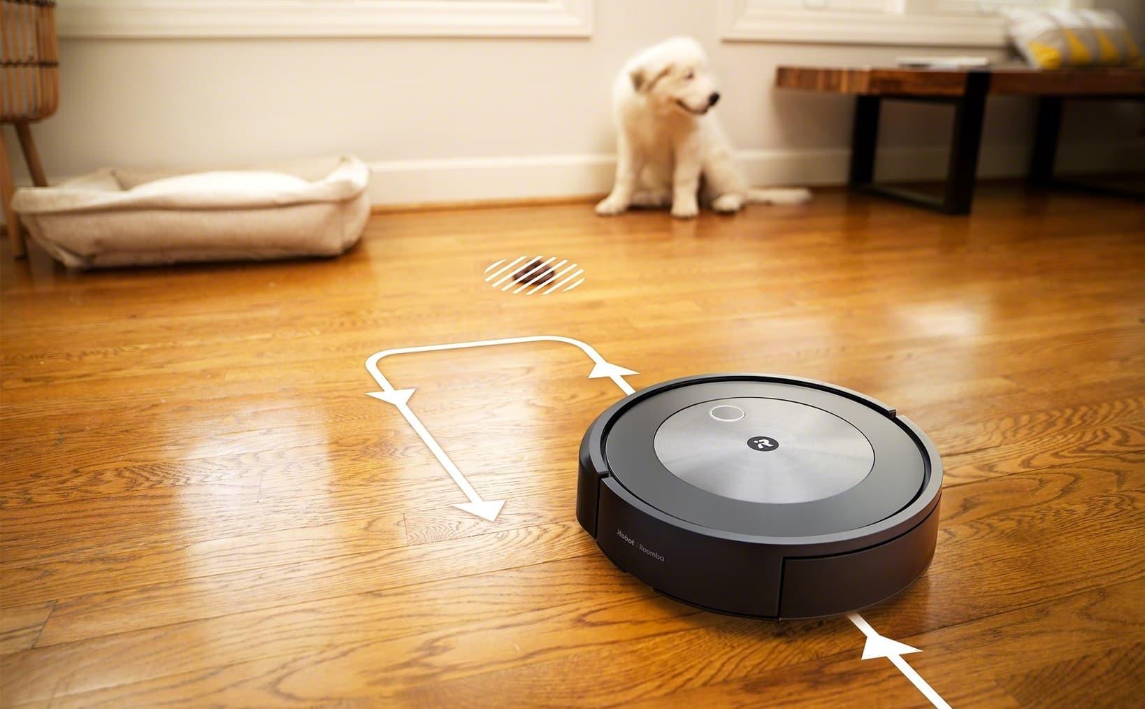 Roomba j7 z PrecisionVision Navigation z P.O.O.P.