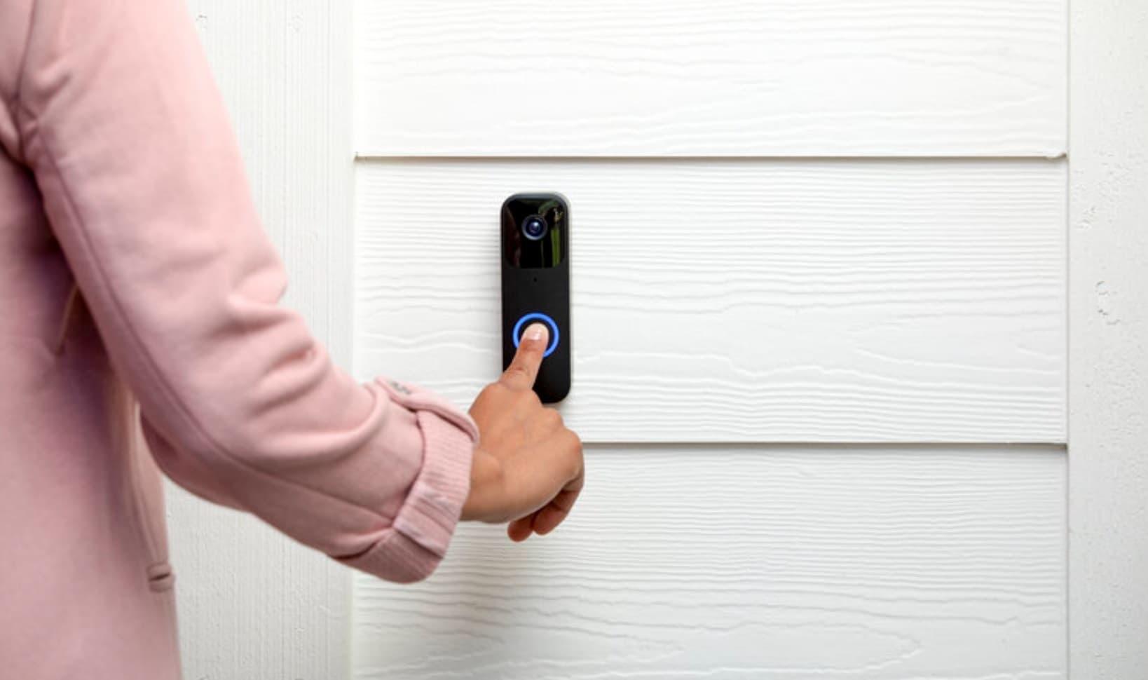 smart video dzwonek do drzwi Blink Video Doorbell