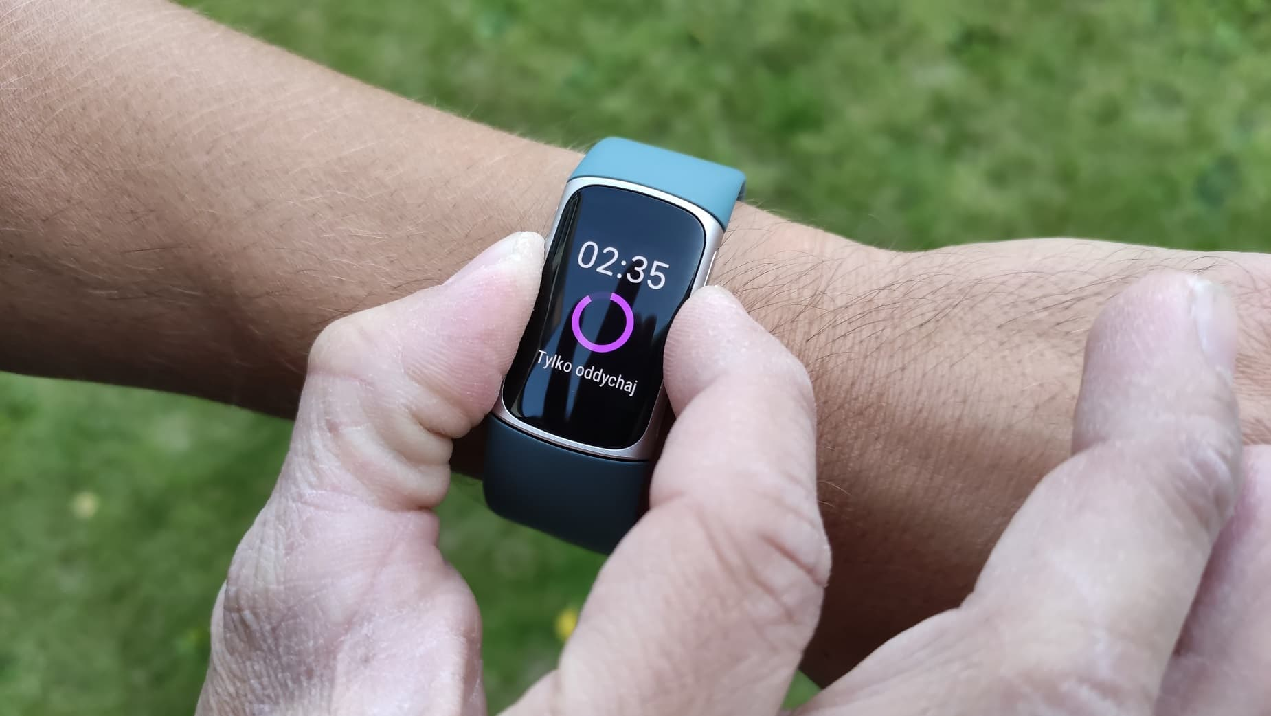 Fitbit Charge 5 EDA stres
