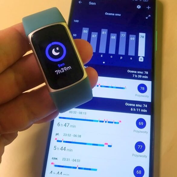 test trackera snu Fitbit Charge 5